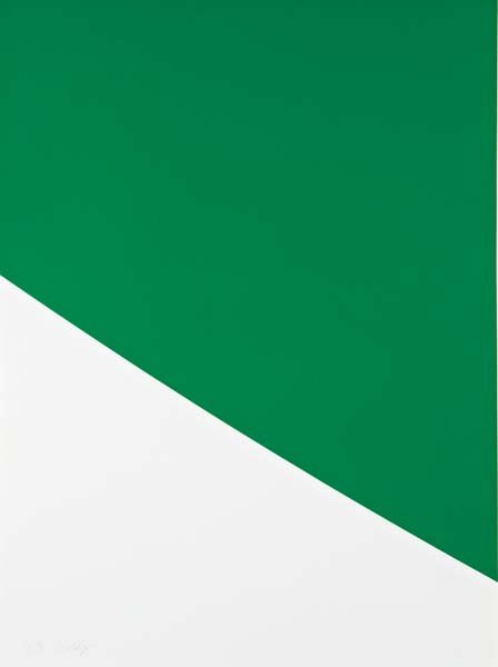 19: ELLSWORTH KELLY,Green Curve, 2000