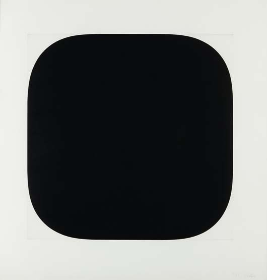 24: ELLSWORTH KELLY,Black Variation III, from Second Cu