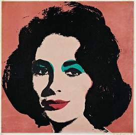 103: ANDY WARHOL,Liz, 1964