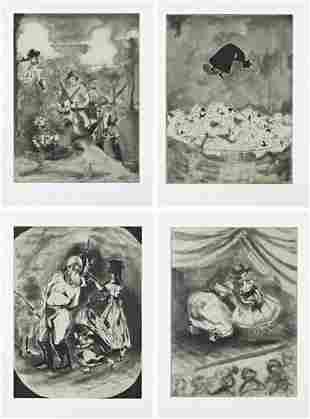 202: KARA WALKER,Cotton; Vanishing Act; Li'l Patch of W