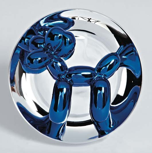 254: JEFF KOONS,Balloon Dog Blue, 2002