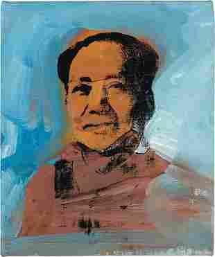 12: ANDY WARHOL, Mao, 1974