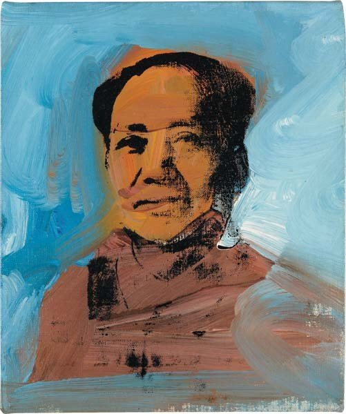 12: ANDY WARHOL, Mao, 1974