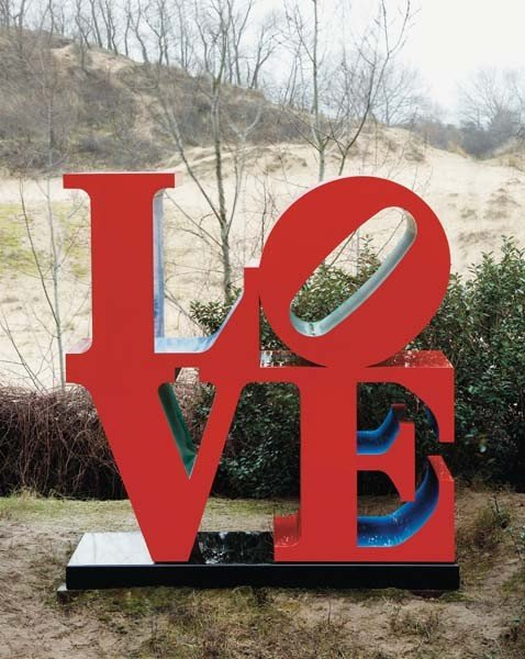 13: ROBERT INDIANA, LOVE, 1966-99