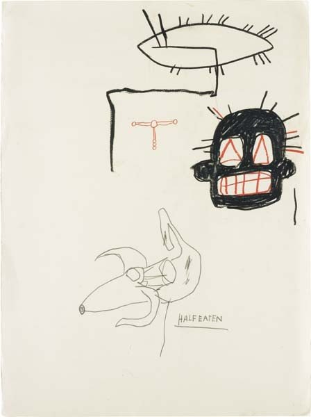 20: JEAN-MICHEL BASQUIAT, Untitled (HALF-EATEN), 1983