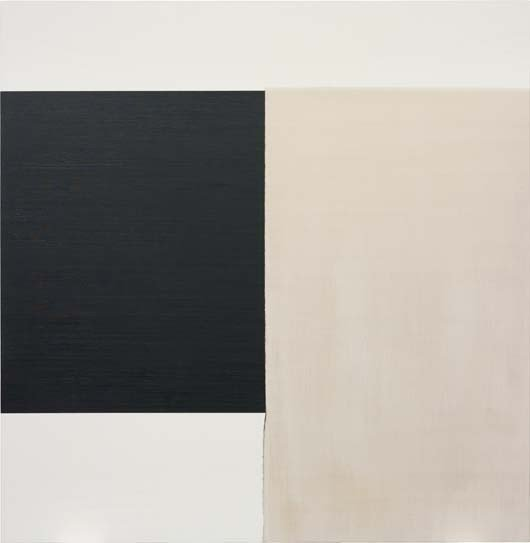 104: CALLUM INNES, Exposed Painting Charcoal Black Yell