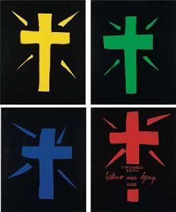 118: GILBERT & GEORGE, Coloured Faith, 1980