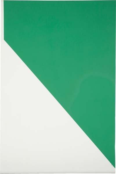 25: DAVIS RHODES, Untitled (Green), 2007