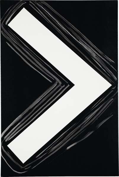 26: DAVIS RHODES, Untitled (Black), 2007