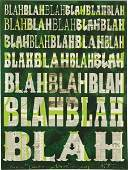 139: PETER TUNNEY, BLAH BLAH BLAH, 2011