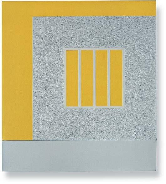 14: PETER HALLEY, Silver Prison, 1999