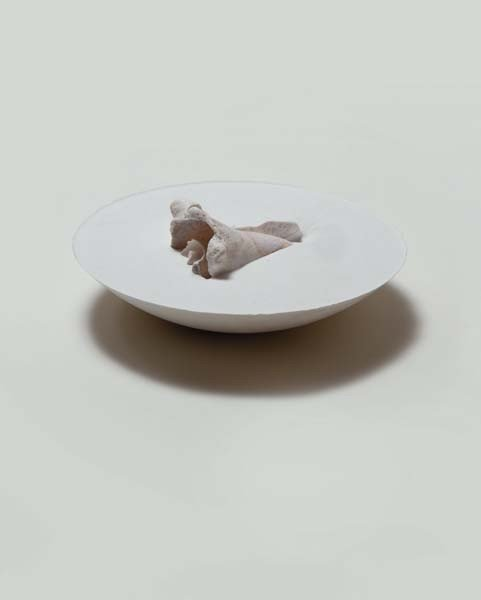 16: GABRIEL OROZCO, Floating Sinking Shell 2, 2004