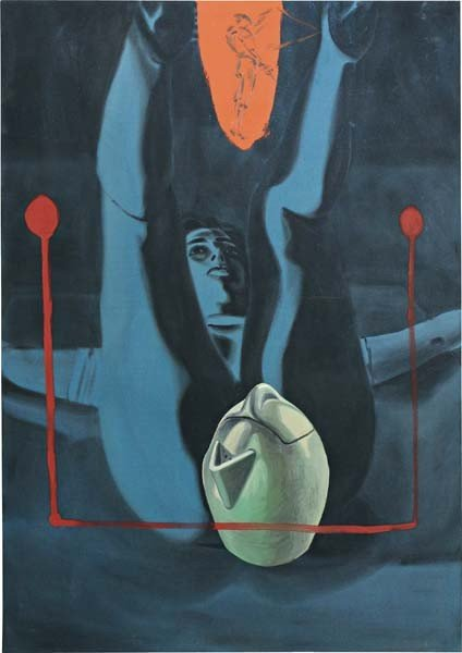 19: DAVID SALLE, Untitled, 1986