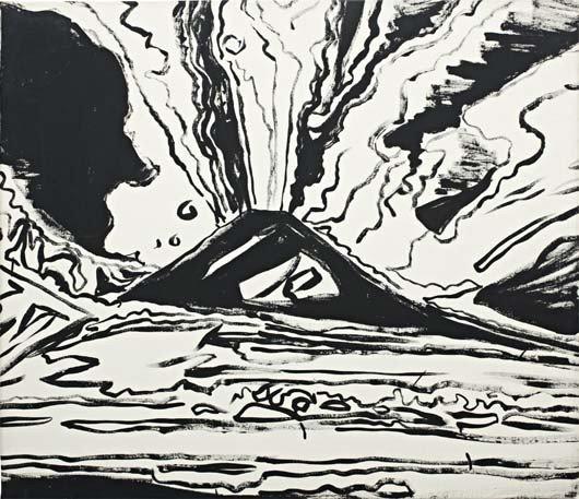 22: ANDY WARHOL, Vesuvius, 1985