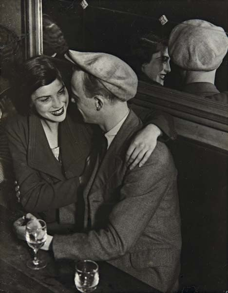 3: BRASSAÏ, Couple at the Bal des Quatre Saisons, Rue d
