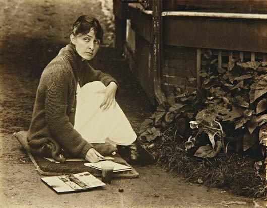 12: ALFRED STIEGLITZ, Georgia O'Keeffe, 1918