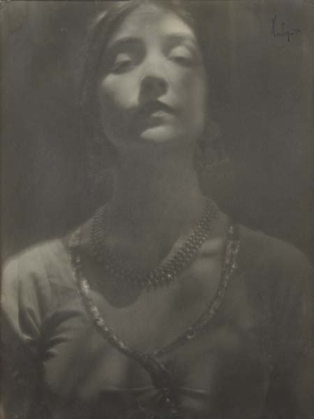 15: EDWARD WESTON, Portrait of a Woman, 1916