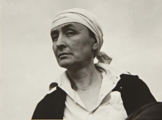 16: ALFRED STIEGLITZ, Georgia O'Keeffe, 1936