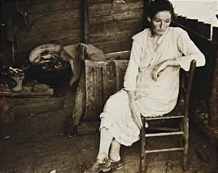 17: BEN SHAHN, Wife of destitute mountaineer, Ozark Mts