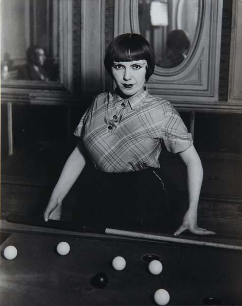39: BRASSAI, Prostitute Playing Russian Billiards, Boul