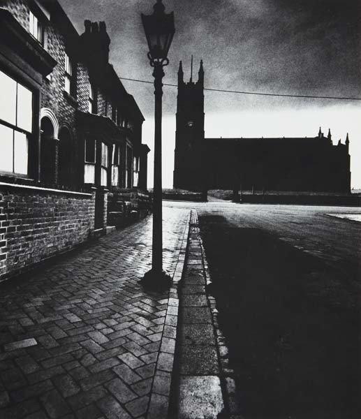 40: BILL BRANDT, Evening light in Burslem, circa 1937