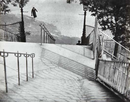 42: ANDRÉ KERTÉSZ, The Stairs of Montmartre, Paris, 192