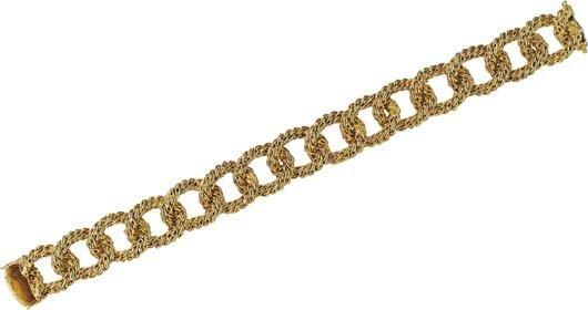 7: A Gold Bracelet.