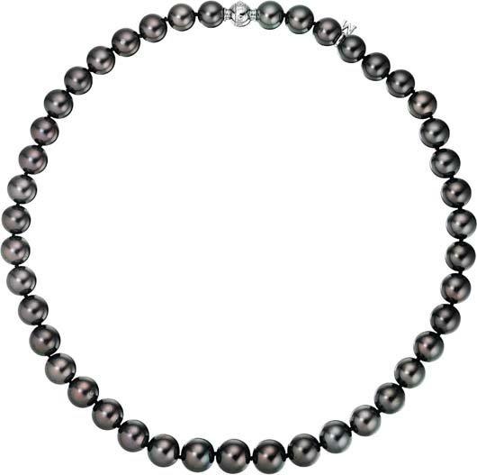 22: MIKIMOTO, A South Sea Cultured Pearl Necklace.