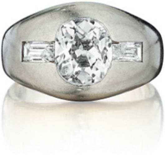 23: A Diamond Ring.