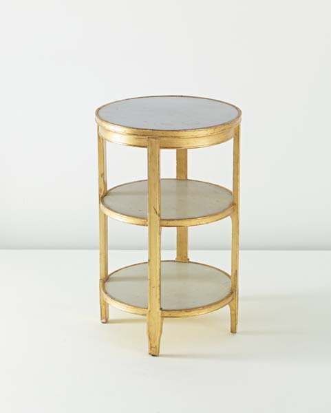 4: JEAN-MICHEL FRANK, Important side table with drawer,