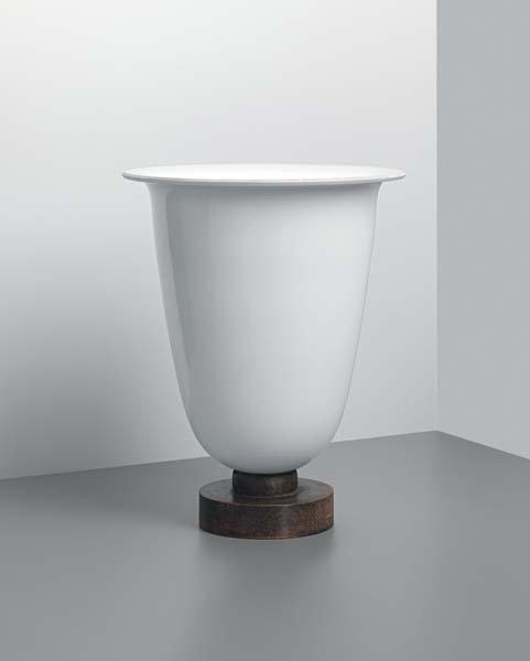 10: EMILE-JACQUES RUHLMANN, Monumental uplighter, 1933