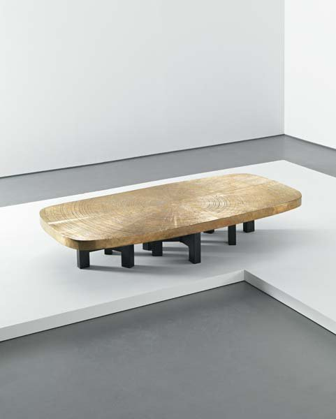 164: ADO CHALE, Large coffee table, circa 1970