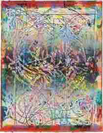 51: FRANK STELLA, Talladega Three II, from the Circuits