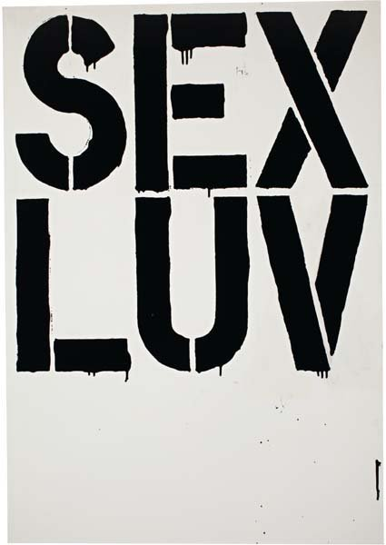 3: CHRISTOPHER WOOL, Untitled (S 69), 1992