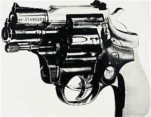 4: ANDY WARHOL, Gun, 1981-1982