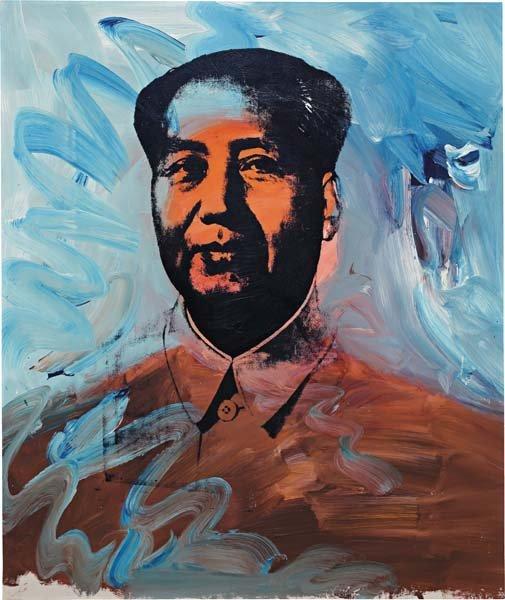 8: ANDY WARHOL, Mao, 1973