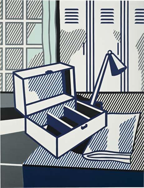 10: ROY LICHTENSTEIN, Still Life with Cash Box, 1976