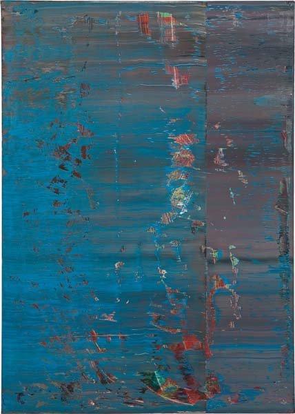 18: GERHARD RICHTER, Abstraktes Bild 638-4, 1987