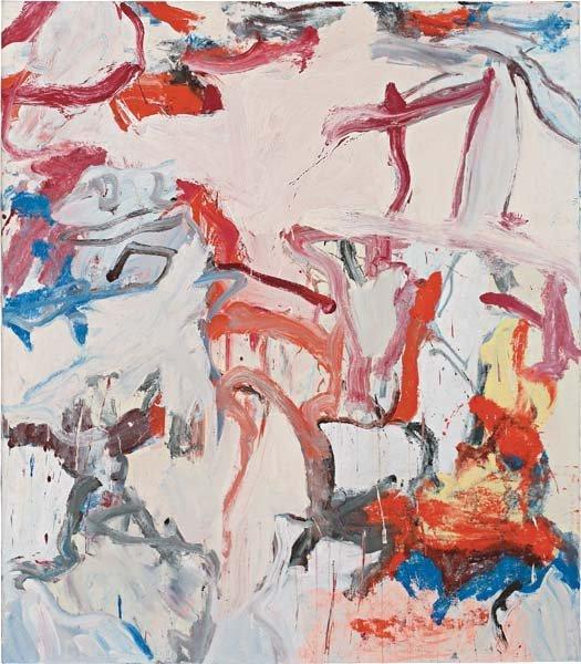 19: WILLEM DE KOONING, Untitled VI, 1975
