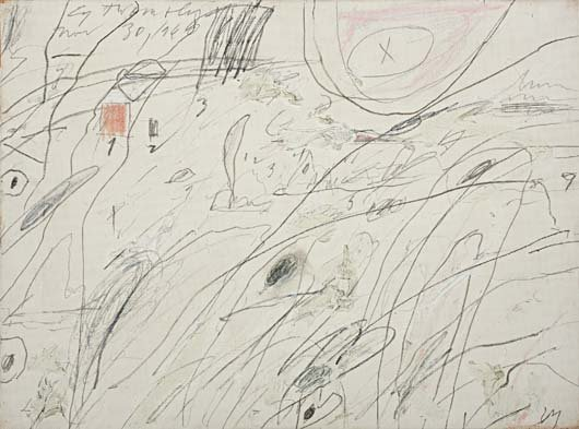 20: CY TWOMBLY, Untitled, 1960