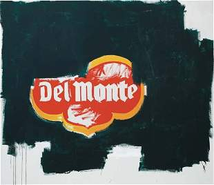 28: JEAN-MICHEL BASQUIAT AND ANDY WARHOL, Del Monte, ci