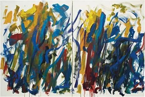 29: JOAN MITCHELL, Sunflowers, 1990