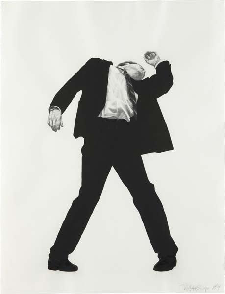 151: ROBERT LONGO, Untitled (Men in Cities), 1984