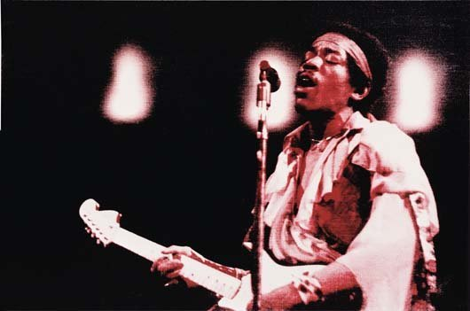 154: GEORGE CONDO, Jimi Hendrix 1, 1999