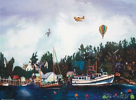 155: MALCOLM MORLEY, Ship to Shore, 1994