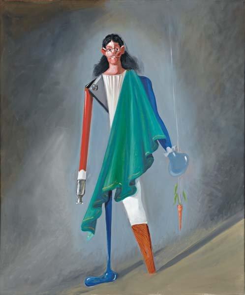 156: GEORGE CONDO, Yankee Doodle, 2003