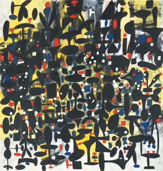 157: GEORGE CONDO, Memory of Spain, 1991