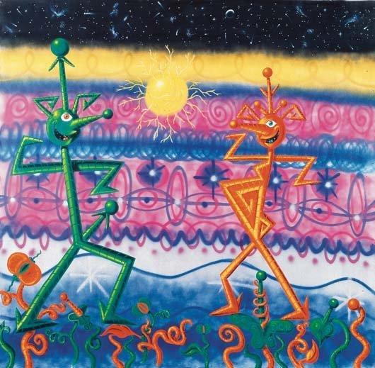159: KENNY SCHARF, Sexadansa, 1984