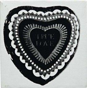 ANDY WARHOL, True Love, 1984
