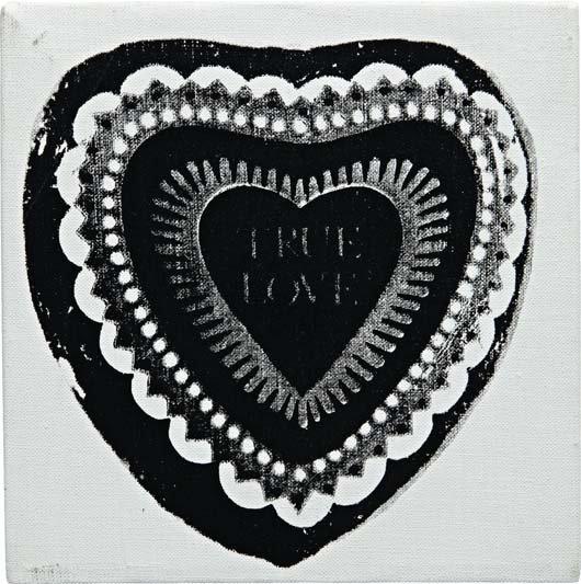 161: ANDY WARHOL, True Love, 1984